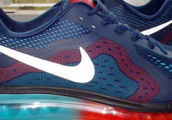 finest selection 72fe3 85794 Nike Air Max+ 2014 - Blue - Red - Teal   Sample - SneakerNews.com