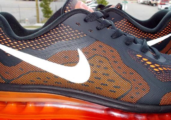 size 40 1e29e 79dc2 Nike Air Max+ 2014 – Orange – Grey – Red  Sample