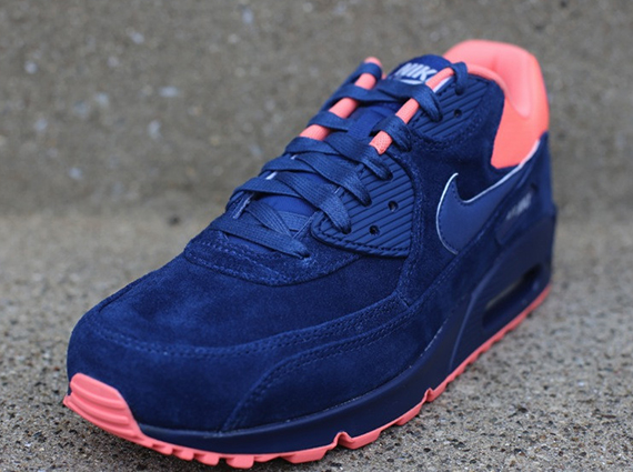 Air Max 90 Vaillant Bleu Rose Atomique