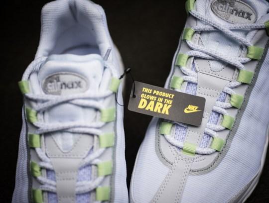 """Nike Air Max 95 PRM Tape """"Glow in the Dark"""""""