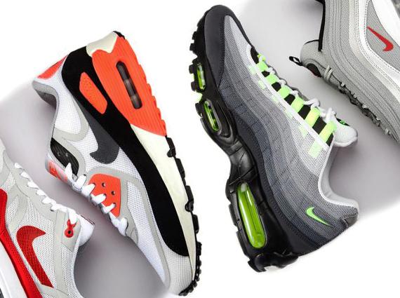 "buy online 0dc7c 7b085 Nike Air Max ""OG Tape Pack"" – Release Date"