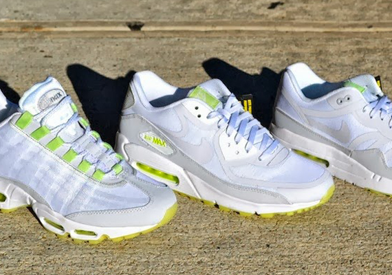 Nike Air Max 90 PRM Tape Glow in the Dark White