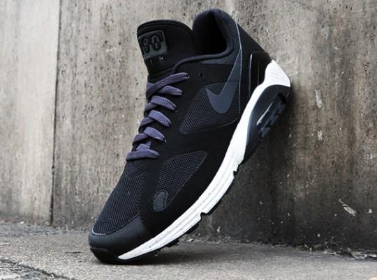 Nike Air Max Terra 180 – Black – Dark Charcoal – Metallic Silver