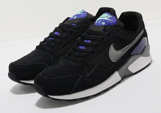 Nike Air Pegasus '92 – Black – Purple – Green