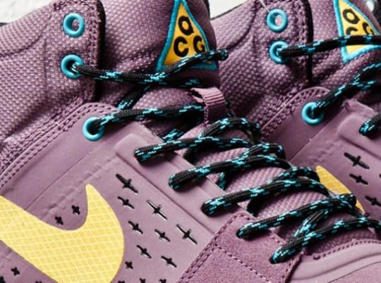 Nike ACG Alder Mid – Dusty Purple – Laser Orange