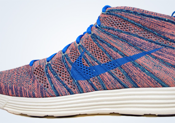 best sneakers e47a8 20c55 Nike Lunar Flyknit Chukka – Brave Blue – Photo Blue – Mineral Teal – Green  Glow