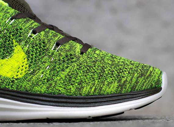 buy online 20a5f 1ce21 Nike Flyknit Lunar1+ - Tarp Green - Volt - Sail ...