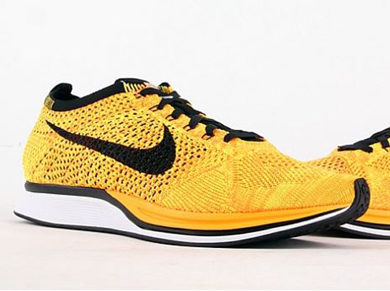 63134410248a No that s not the original volt black combination of the Nike Flyknit Racer  that you re looking at. Pictured here is an upcoming colorway that appears  to ...