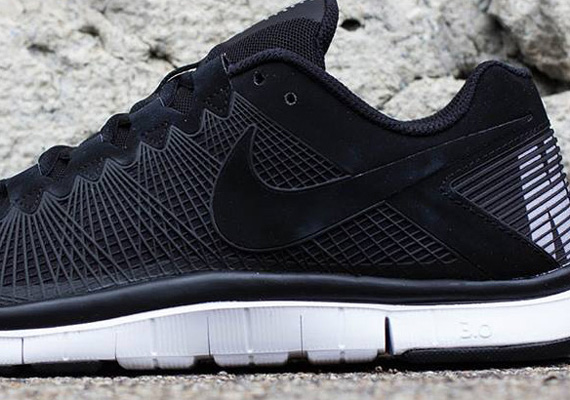 nike free trainer 3.0 all black