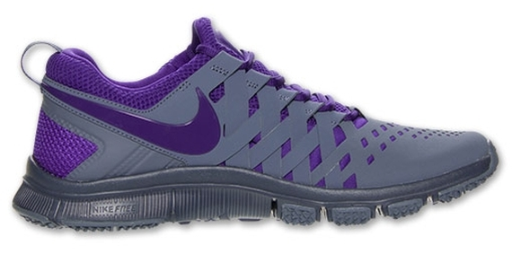 nike free trainer 5.0 grey and purple