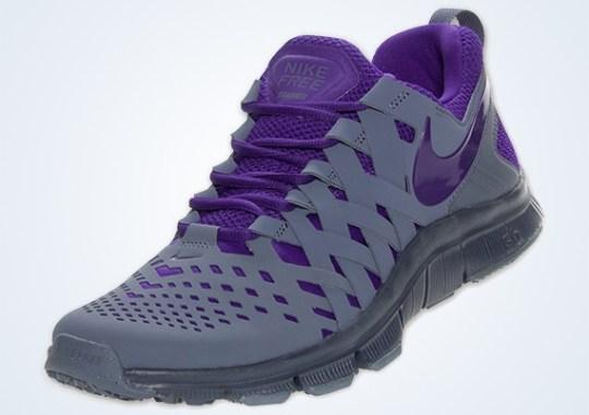 Nike Free Trainer 5.0 – Armory Slate – Electric Purple