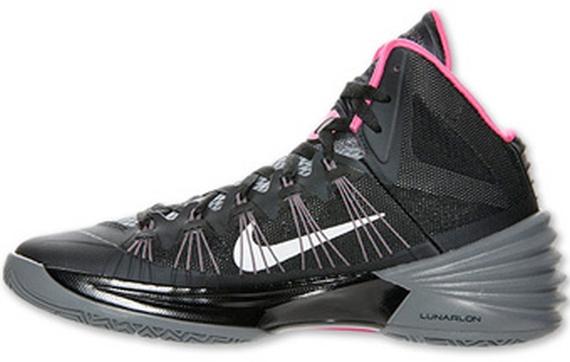 Nike Hyperdunk 2013 - Black - Grey - Pink - SneakerNews.com