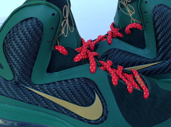 nike lebron 9 unreleased green quotchristmasquot sample