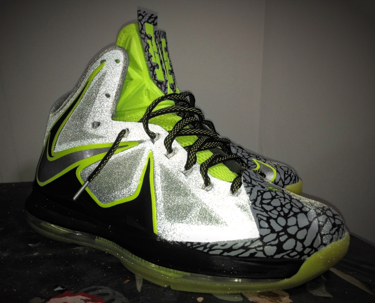 "Nike LeBron X ""112"" by Mache Customs - SneakerNews.com"