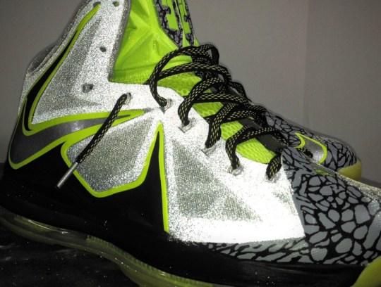 """Nike LeBron X """"112"""" by Mache Customs"""