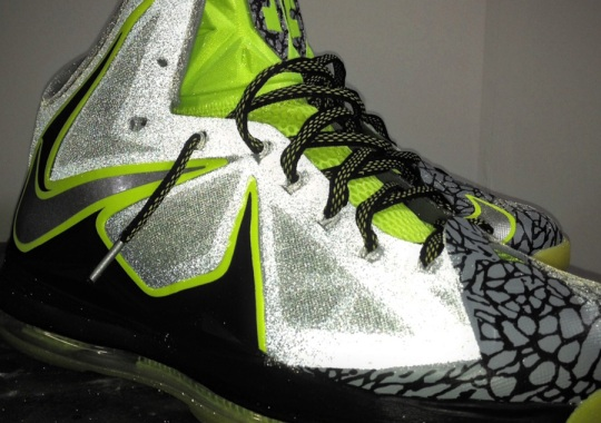 "Nike LeBron X ""112"" by Mache Customs"