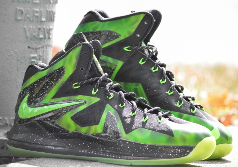 nike lebron x what the lebron by dmc customs 00be675d44c7