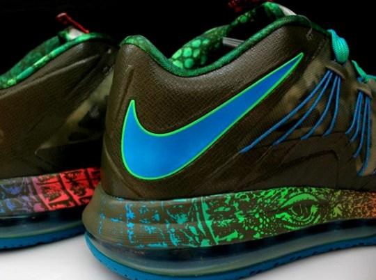 """Nike LeBron X Low """"Reptile"""""""