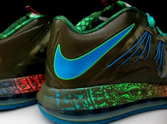 "newest 5c7ba d91aa Nike LeBron X Low ""Reptile"""