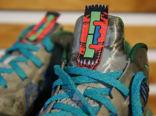 """Nike LeBron X Low """"Reptile"""" – Available Early on eBay"""