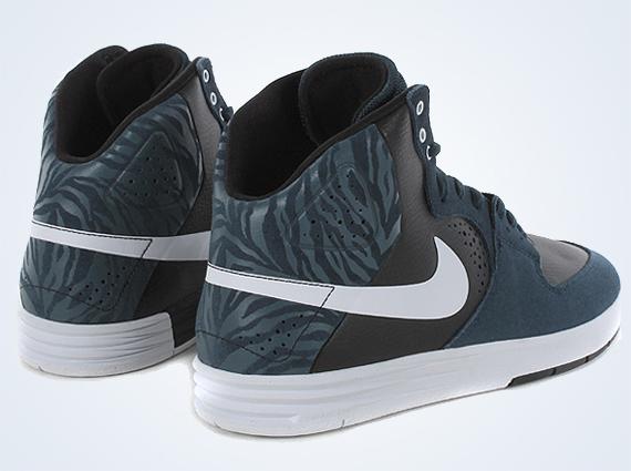 1bb45693f6c9 Nike SB Paul Rodriguez 7 High - Armory Navy - Black - White -  SneakerNews.com