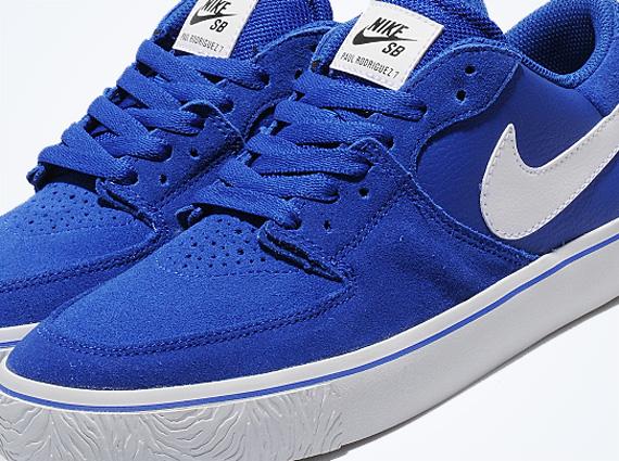 Nike Paul Rodriguez 7 VR - Blue - White - SneakerNews.com