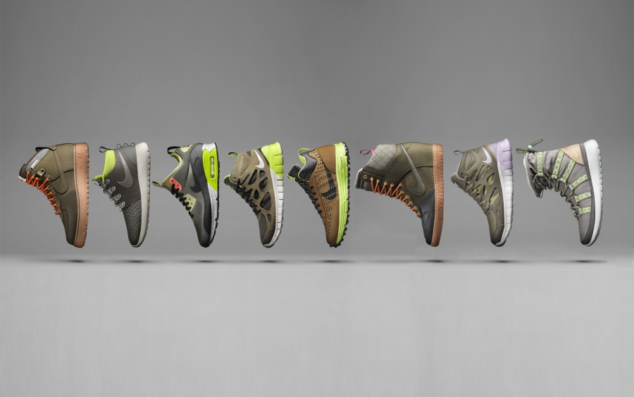 designer fashion 7bba1 70428 Nike Sportswear Introduces the SneakerBoot Collection