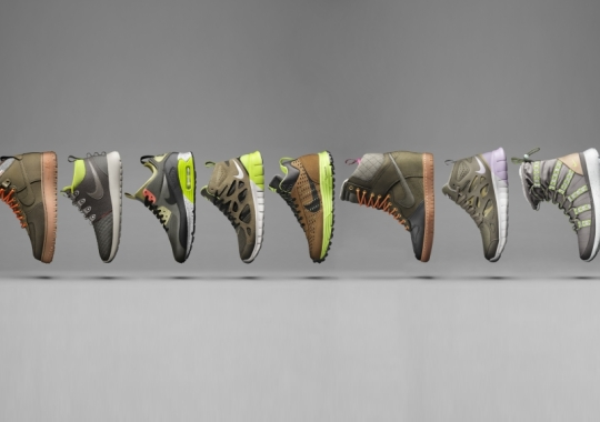 Nike Sportswear Introduces the SneakerBoot Collection