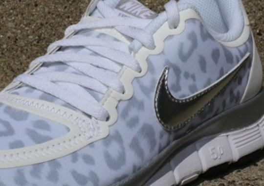 "Nike WMNS Free 5.0 V4 ""Cheetah"" – White"