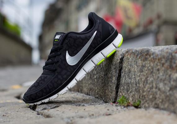 80357961d09b1 Nike Free 5.0 4v Leopard