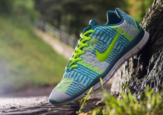b8dd28c4c94b Nike WMNS Free TR Fit 3 – Mineral Teal – Gamma Blue – Volt