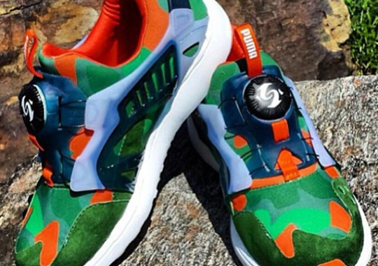 "Puma Disc Lite ""Peas n Carrots"" by PMK Customs"