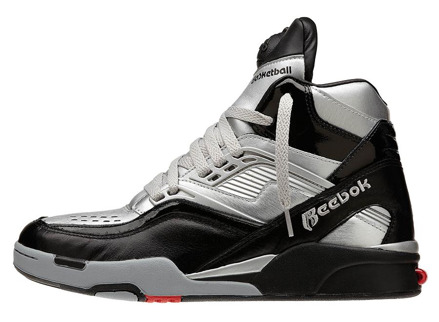 reebok double pump basketball shoes