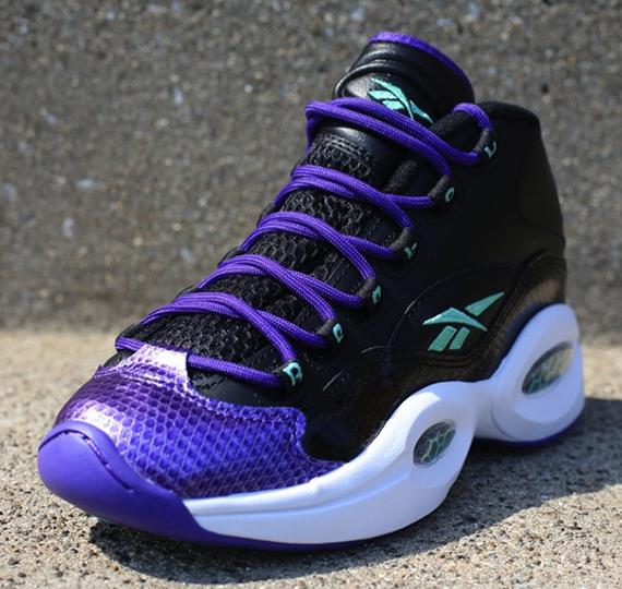 reebok question black purple sea sneakernewscom