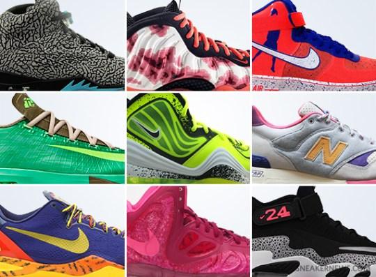 September 2013 Sneaker Releases