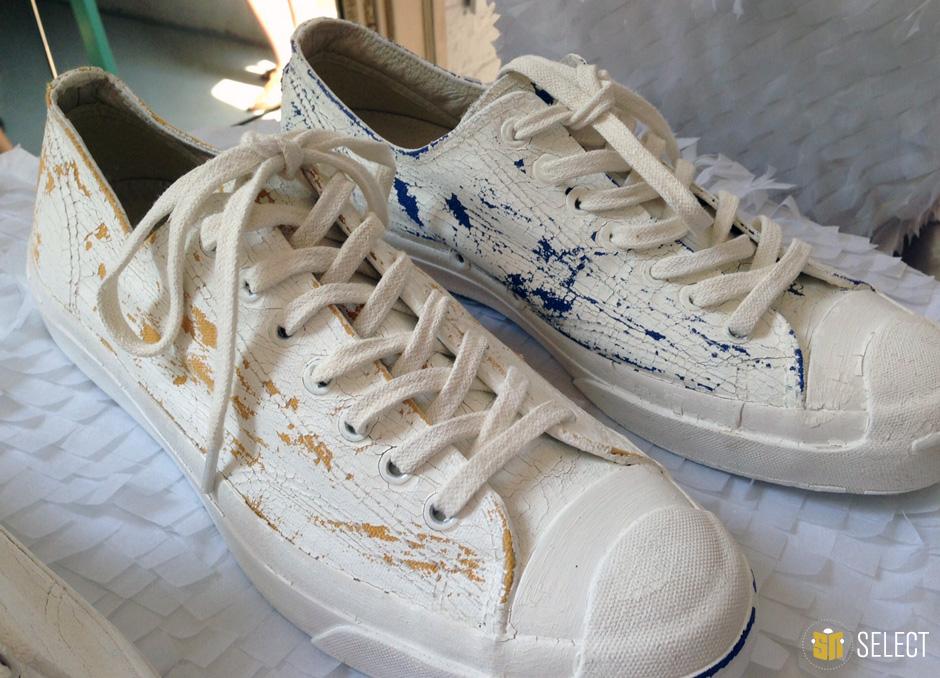 margiela converse paint