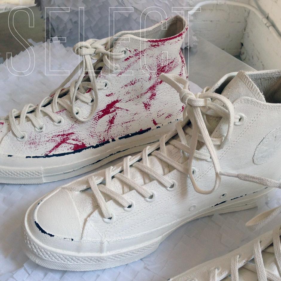 sneaker news select maison martin margiela x converse. Black Bedroom Furniture Sets. Home Design Ideas