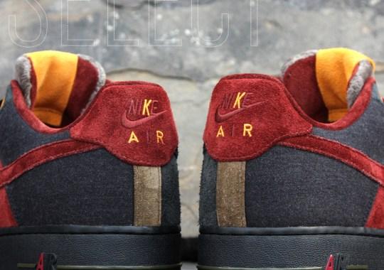 "Nike Air Force 1 Bespoke: The ""AACG Bespeaux"" by Aaron Kr."