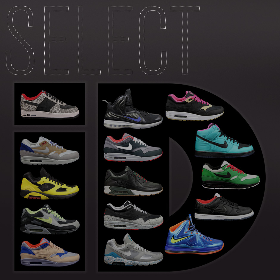 premium selection 050a6 f542c NIKE iD  The Art of Borrowing Colorways