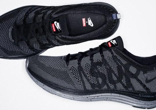 Supreme x Nike Flyknit Lunar1+ – Release Date