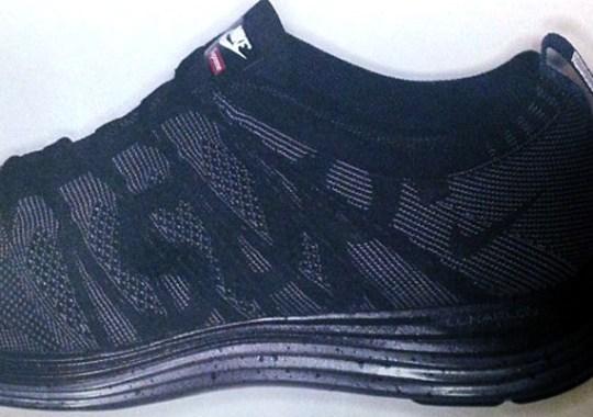 Supreme x Nike Flyknit Lunar1+ – Black