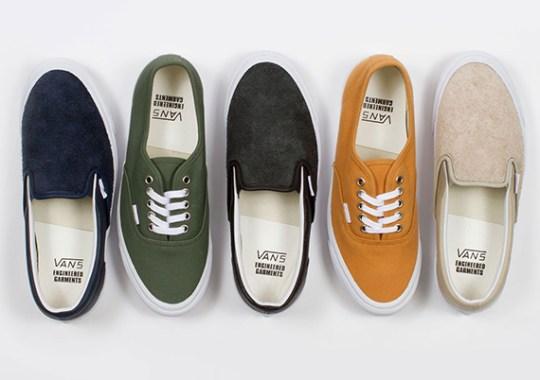 Engineered Garments x Vans Vault Collection