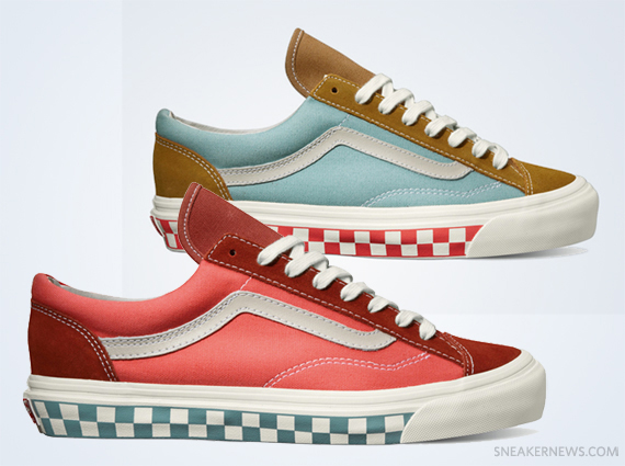5c5b23876dd The iconic Vans waffle sole usually shows up with white sidewalls
