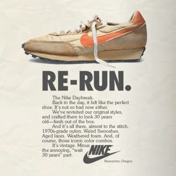 how nike advertise its product