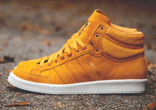 adidas Originals Americana Hi 88 – Gold Rod