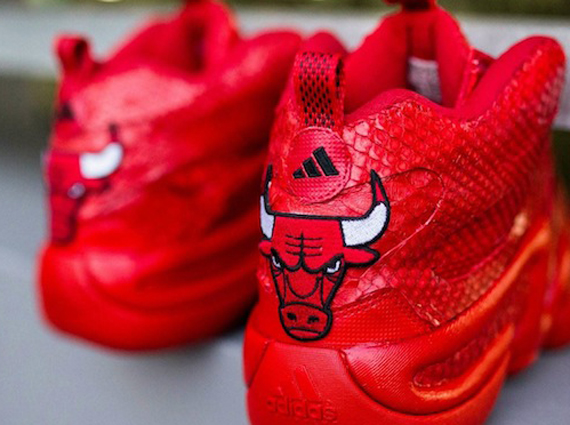 adidas Crazy 8 Red Python Customs for Jimmy Butler by JP Custom Kicks f3b1cbb9fe