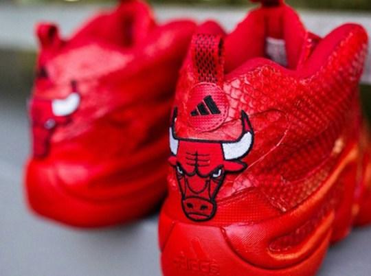 adidas Crazy 8 Red Python Customs for Jimmy Butler by JP Custom Kicks