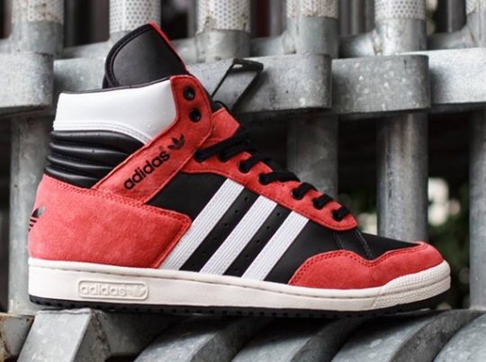 adidas Originals Pro Conference Hi – Black – Highless Red – Running White
