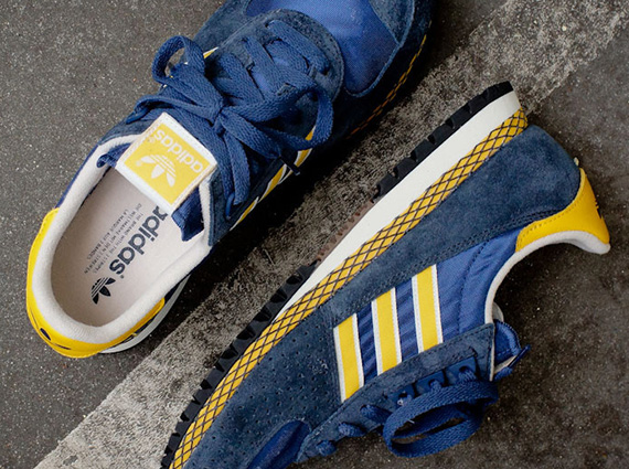 adidas dragon navy yellow