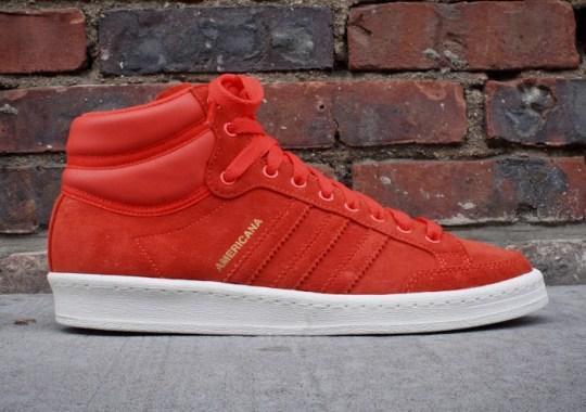 adidas Originals Americana Hi 88 – Red – White